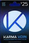KarmaKoinCard CDKey : KarmaKoinCard 25$
