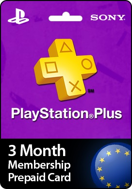 Playstation Network CDKey : Playstation Plus 3 Month Prepaid Card - United Kingdom