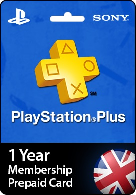 Playstation Network CDKey : 1 Year PlayStation Plus Membership Prepaid Card - United Kingdom