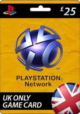 Playstation Network CDKey : Sony Playstation Network £25.00 Card - United Kingdom