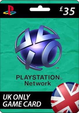 Playstation Network CDKey : Sony Playstation Network £35.00 Card - United Kingdom