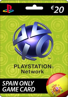 Playstation Network CDKey : Sony Playstation Network €20.00 Card - SPAIN