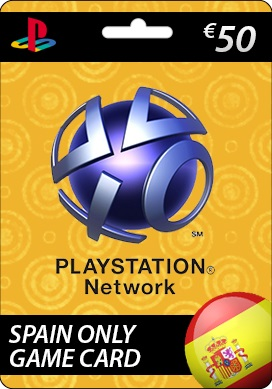 Playstation Network CDKey : Sony Playstation Network €50.00 Card - SPAIN
