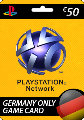 Playstation Network CDKey : Sony Playstation Network €50.00 Card - Germany