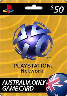 Playstation Network CDKey : Playstation Network $50.00 Card - Australia