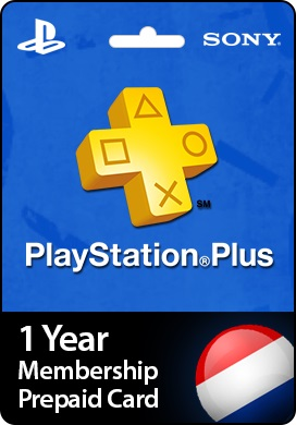 Playstation Network CDKey : 1 Year PlayStation Plus Membership Prepaid Card - Netherlands