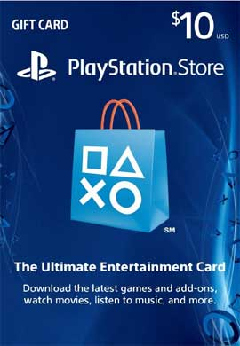 Playstation Network CDKey : Playstation Network $10.00 Card - US Region