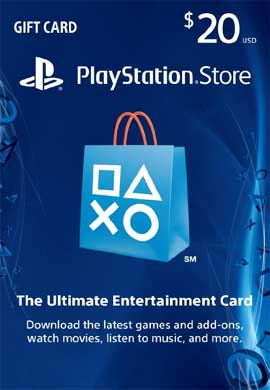 Playstation Network CDKey : Playstation Network $20.00 Card - US Region