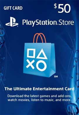 Playstation Network CDKey : PlayStation Network $50 Card - Canada