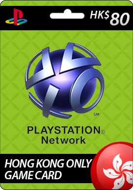 Playstation Network CDKey : Sony Playstation Network HK$80 Card - Hong Kong