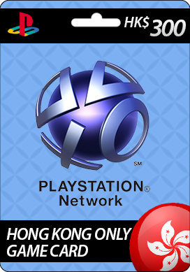 Playstation Network CDKey : Sony Playstation Network HK$300 Card - Hong Kong