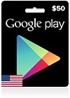 Clash of Clans CDKey : USD 50 Google Play Gift Card (US)