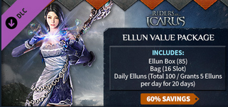 Riders of Icarus CDKey : Riders of Icarus Ellun Value Package