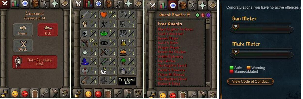 RuneScape CDKey : OldSchool Acc with att1 str1 def60 ranged 1 , it does not bind email ,so it is much safe to buyer.